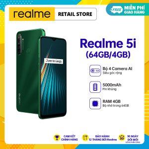 BẢO HÀNH CHÍNH HÃNG 12 THÁNG Điện thoại Realme 5i